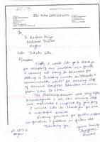 JCI Nagpur Lady Legend Feedback Letter from chapter President